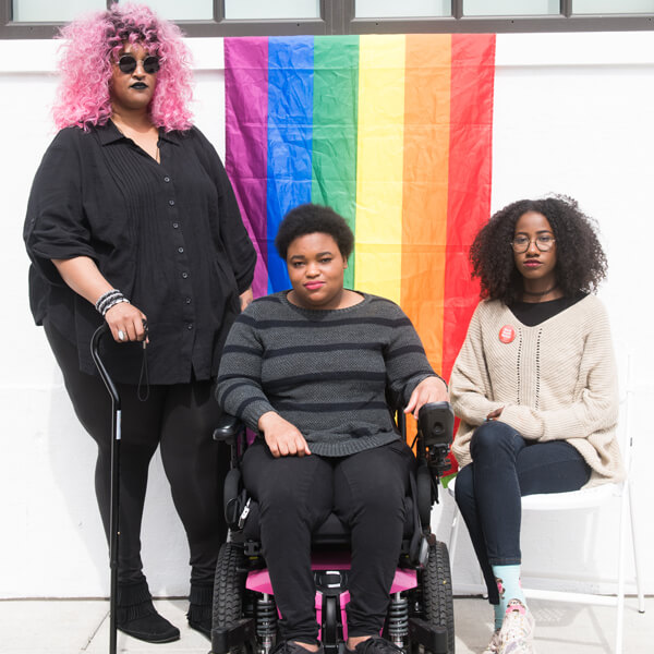 Queer, Disabled, Black, and Proud